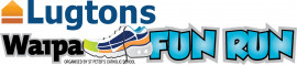 Lugtons Waipa Fun Run Logo Vertical
